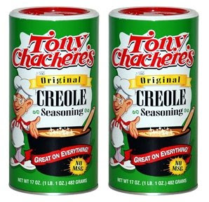 Tony Chachere's seasoning